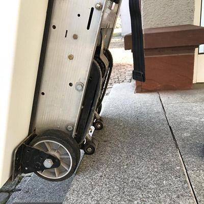 Treppensteiger-motorisch